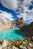 Mountain scenery in the Andes Royalty Free Stock Photo