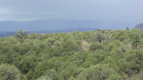 Mountain scenery from Arizona stock video