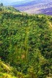 Mountain scenery in Bali Kintamani Stock Photos