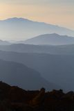 Mountain scenery Crete 3. Mountain scenery Crete beautiful sunrise royalty free stock image