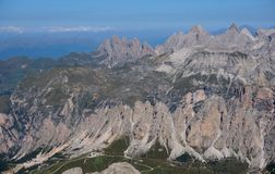Mountain scenery in the dolomites Royalty Free Stock Images