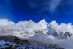 Mountain scenery in Himalaya, Nepal Stock Photos