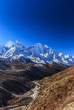 Mountain scenery in Himalaya, Nepal Royalty Free Stock Photo