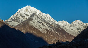 Mountain scenery in Himalaya Royalty Free Stock Images
