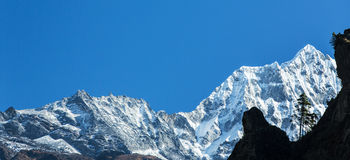 Mountain scenery in Himalaya Stock Photos