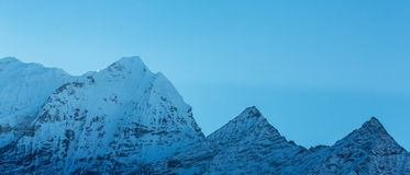 Mountain scenery in Himalaya Stock Photography