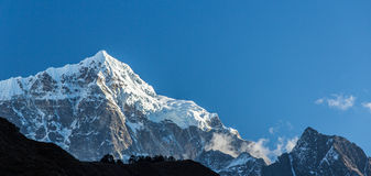 Mountain scenery in Himalaya Royalty Free Stock Image