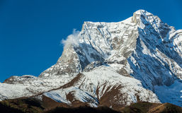 Mountain scenery in Himalaya Stock Image