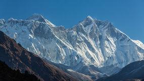 Mountain scenery in Himalaya Royalty Free Stock Photography