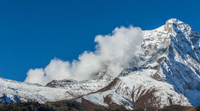 Mountain scenery in Himalaya Stock Images