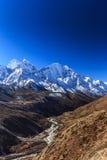 Mountain Scenery In Himalaya, Nepal Royalty Free Stock Photo