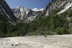 Mountain scenery in Kings Canyon National Park Stock Image