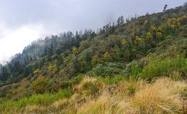Mountain scenery of Pokhara, Nepal stock photography