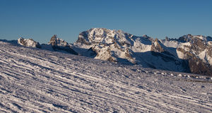 Mountain scenery - Verbier Royalty Free Stock Photography