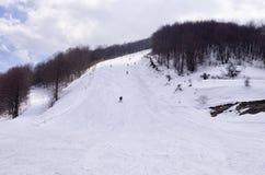 Mountain scenery in Vigla, Florina's ski center, Greece Stock Image