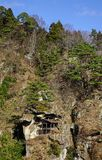Mountain scenery of Yamadera, Japan Stock Image