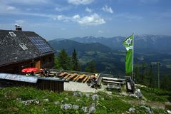 Zellerhutte, Totes Gebirge, Oberosterreich, Austria royalty free stock photography