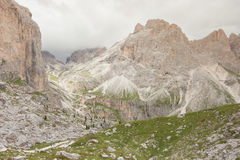 Mountain scenes from the Catinaccio area, Dolomites Royalty Free Stock Images