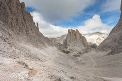 Mountain scenes from the Catinaccio area, Dolomites Royalty Free Stock Photo