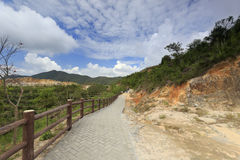 Mountain scenic area of xiamen Royalty Free Stock Images
