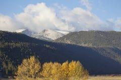 Mountain Scenic in Fall Stock Photos