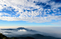 Mountain scenic in Thailand Stock Image
