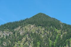 Mountain Schattenberg nearby Oberstdorf in Bavaria Royalty Free Stock Images