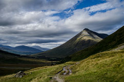 Mountain in Scottish Highlands Stock Image