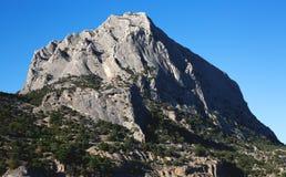Mountain sea bay rocks landscape. Mountain sea bay rocks panoramic landscape stock photos