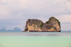 Mountain on the sea Royalty Free Stock Photography