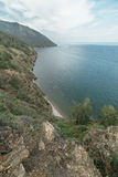 Mountain and sea. Royalty Free Stock Photos