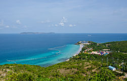 Mountain sea view in thailand Royalty Free Stock Images