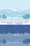 Mountain Seamless Landscapes Stock Photography