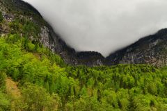 Mountain Seewand around Hallstatt, Austria Royalty Free Stock Photography