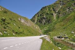 Furka pass, Switzerland Stock Image