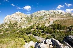 Mountain serpentine on Cap de Formentor - beautiful coast of Majorca, Spain - Europe. Mountain serpentine on Cap de Formentor - beautiful coast of Majorca Stock Image