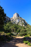 Mountain in Serra de Tramuntana, Majorca Royalty Free Stock Photos