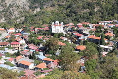 The mountain settlement, Troodos Mountains, Cyprus. Stock Photos