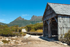 Mountain Shack Royalty Free Stock Images