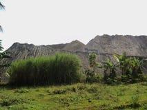 Mountain-shapehigh mountain stacks of mountain sandd sand pile stock photography