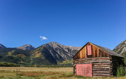 Mountain shed Royalty Free Stock Photo