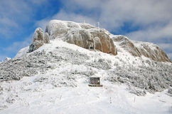 Mountain shelter Royalty Free Stock Image