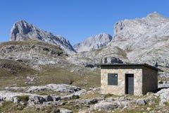 Mountain shelter Stock Image