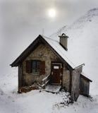 Mountain Shelter on Watzmann Royalty Free Stock Images