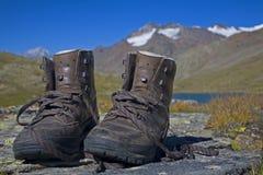 Mountain shoes Royalty Free Stock Photo