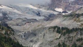 Mountain side. Mount Rainie National Park, Washington stock video