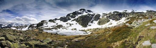 Mountain Sierra de Guadarrama. In Spain near Madrid Royalty Free Stock Image