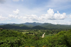 The mountain of Sierra of Escambray. In Trinidad Royalty Free Stock Photo