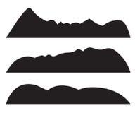 Mountain Silhouettes Royalty Free Stock Photo