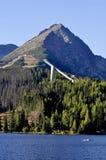 Mountain. Ski areal. Royalty Free Stock Image